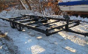 Where to find TRAILER, FISH HOUSE 2 AXLE in Wayzata