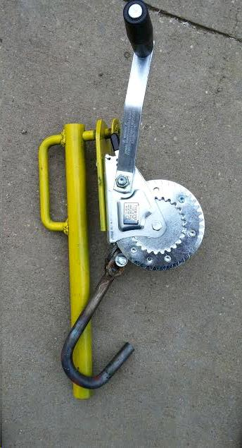 Where to find DOCK, LEVELER crank in Wayzata