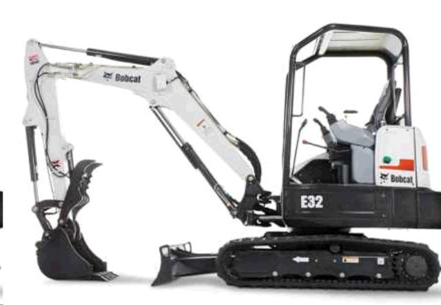 Where to find EXCAVATOR, BOBCAT E32 in Wayzata