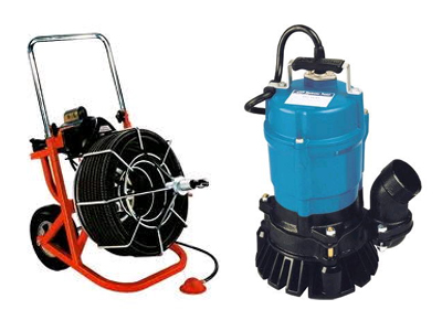 Pump & Plumbing Tool Rentals in West Metro